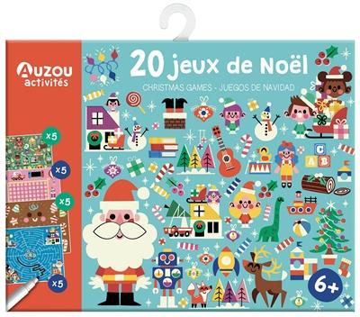 20 jeux de Noël. Christmas games. Juegos de Navidad