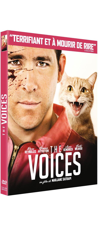Couverture de : The voices