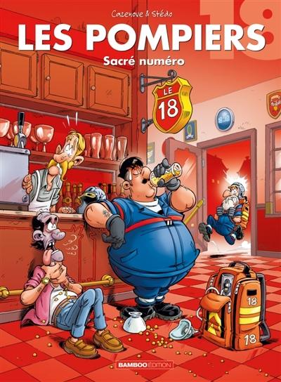 Les pompiers. Vol. 18. Sacré numéro
