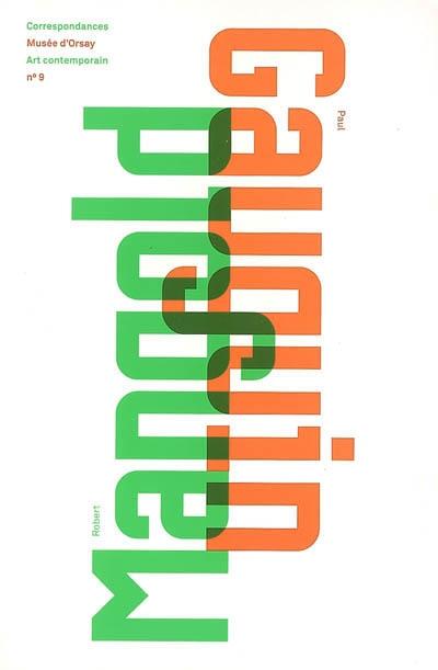 Robert Mangold / Paul Gauguin   Lemoine, Serge. Directeur de publication