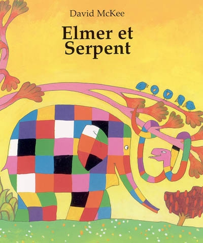 Elmer et Serpent / David McKee | McKee, David (1935-....). Auteur