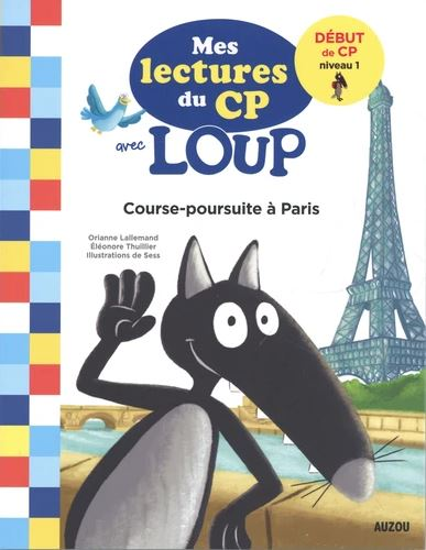 Course-poursuite à Paris : début de CP, niveau 1