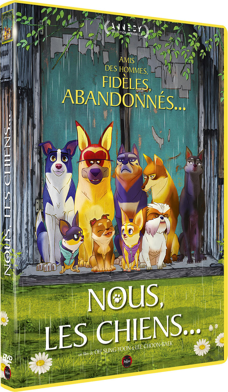 Couverture de : Nous, les chiens...