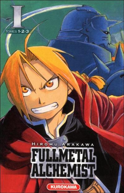 Fullmetal alchemist : [intégrale]. 1, Tomes 1, 2, 3 / Hiromu Arakawa   Arakawa, Hiromu (1973-....). Auteur