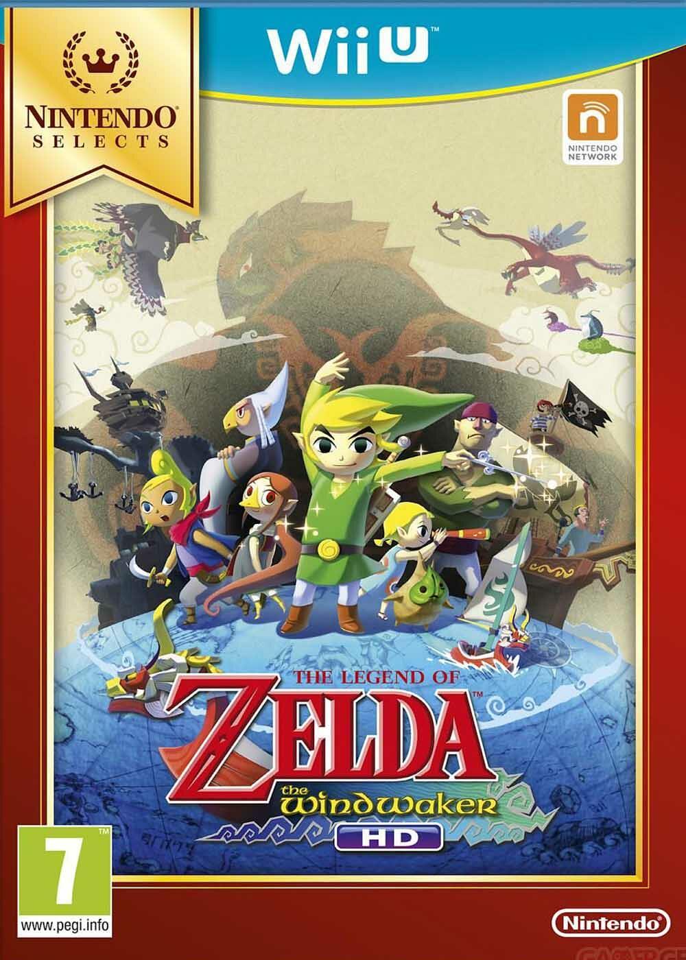 The Legend Of Zelda : The Wind Waker HD |