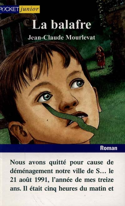 La balafre | Jean-Claude Mourlevat (1952-....)