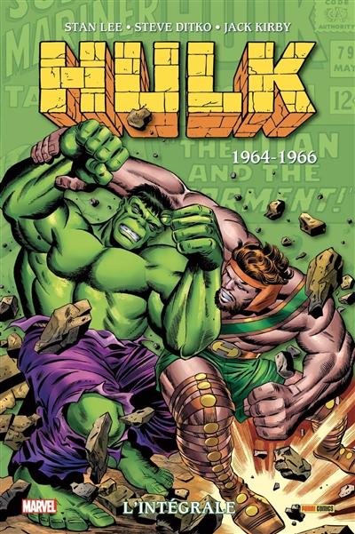 Hulk : l'intégrale. Vol. 2. 1964-1966