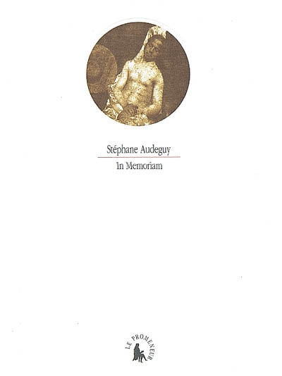 In memoriam / Stéphane Audeguy | Audeguy, Stéphane (1964-....). Auteur