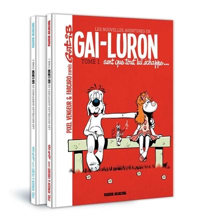 Les nouvelles aventures de Gai-Luron : pack tomes 1 et 2