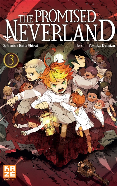 The promised neverland. 3 / scénario Kaiu Shirai | Shirai, Kaiu. Auteur