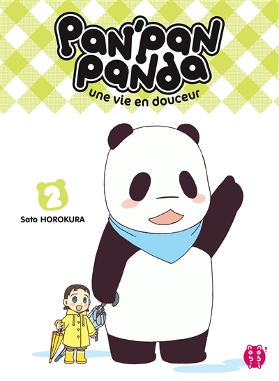 Pan'Pan panda. 2   Horokura, Sato. Auteur
