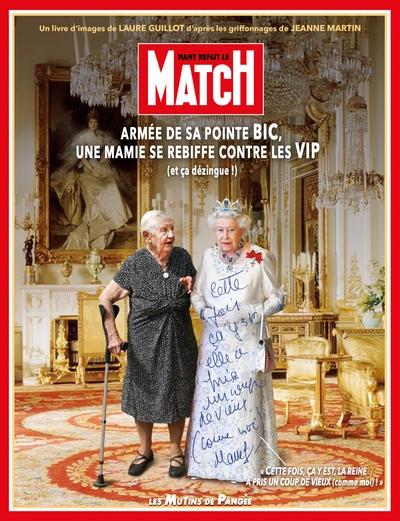 Mamy refait le Match : armée de sa pointe Bic, une mamie se rebiffe contre les VIP (et ça dézingue !)