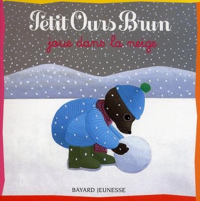 Petit Ours Brun joue dans la neige / ill. Danièle Bour   Bour, Danièle (1939-...). Illustrateur