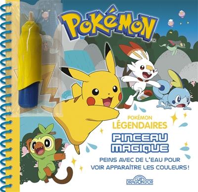 Pokémon légendaires : pinceau magique