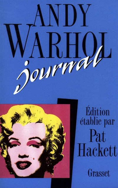 Journal | Andy Warhol (1928-1987). Auteur