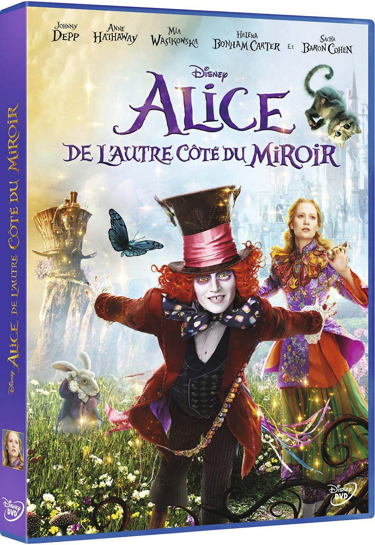 Alice, de l'autre côté du miroir = Alice in Wonderland 2: Through the Looking Glass / James Bobin, réal. | Bobin, James. Réalisateur