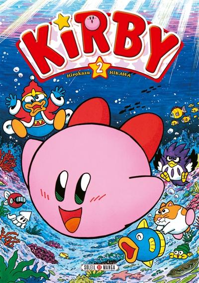 aventures de Kirby dans les étoiles (Les). Tome 2 | Hikawa, Hirokazu. Auteur