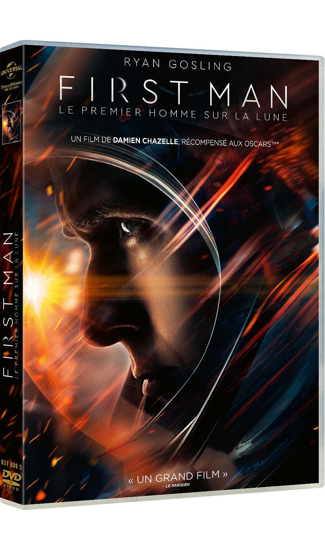 First man : Le premier homme sur la Lune / un film de Damien Chazelle  | Chazelle, Damien. Metteur en scène ou réalisateur