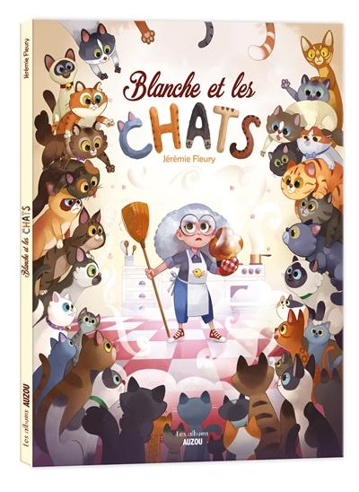 Blanche et les chats