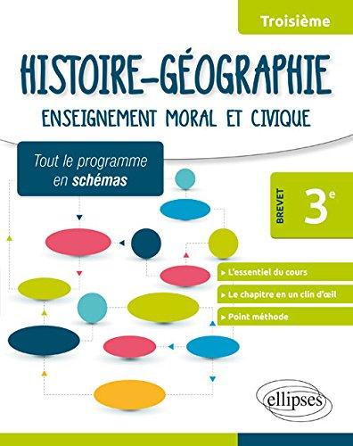 Histoire géographie, enseignement moral et civique, 3e : spécial brevet / Sonia Laloyaux   Laloyaux, Sonia. Auteur