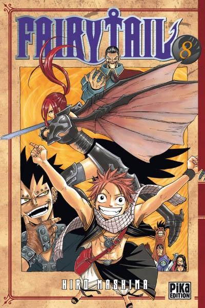 Fairy Tail. 8 / Hiro Mashima   Mashima, Hiro. Auteur
