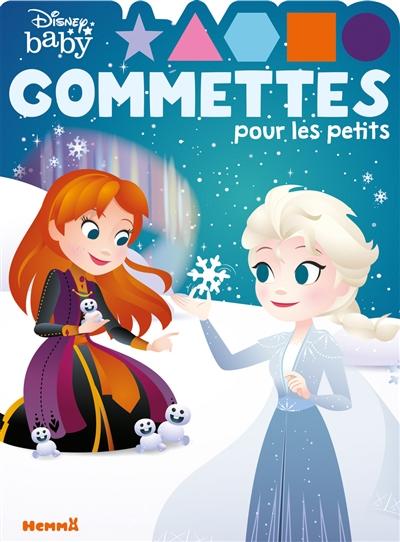 Disney baby : gommettes pour les petits : Elsa et Anna