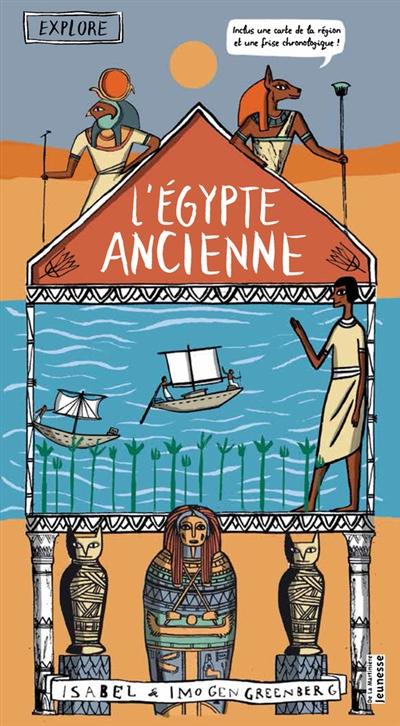 Egypte ancienne (L') | Greenberg, Imogen. Auteur