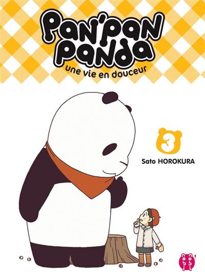 Pan'Pan panda. 3   Horokura, Sato. Auteur