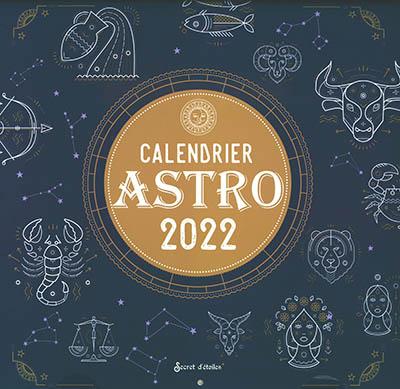 Calendrier astro 2022