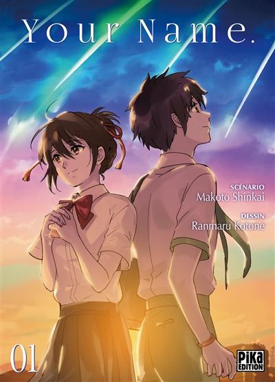 Your name. 01 / scénario, Makoto Shinkai | Shinkai, Makoto (1973-....). Auteur