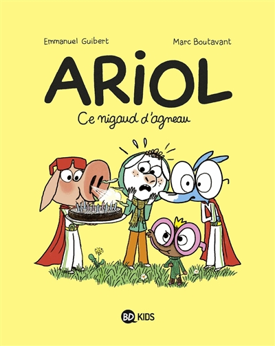 Ariol. v.14, Ce nigaud d'agneau | Guibert, Emmanuel (1964-....). Auteur
