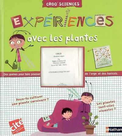 Expériences avec les plantes | Delphine Grinberg. Auteur