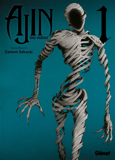 Ajin : semi-humain. 1 / scénario Tsunina Miura | Miura, Tsuina. Auteur