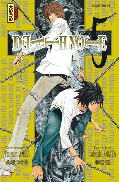Death note. 5 / scénario, Tsugumi Ohba | Oba, Tsugumi (19..-....). Auteur