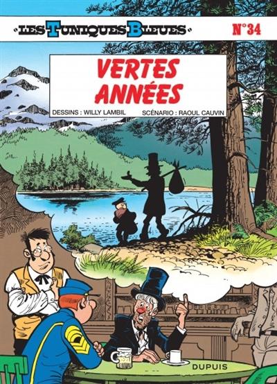Vertes années | Lambil, Willy (1936-....). Illustrateur