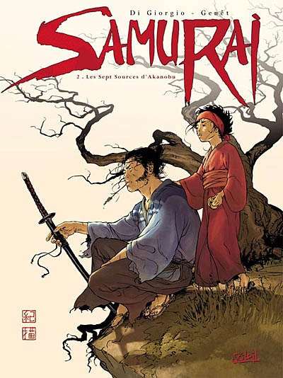 Samurai. Vol. 2. Les sept sources d'Akanobu