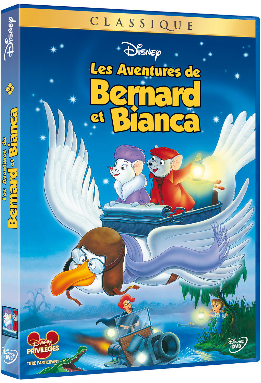 Les aventures de Bernard et Bianca   Reitherman, Wolfgang. Monteur