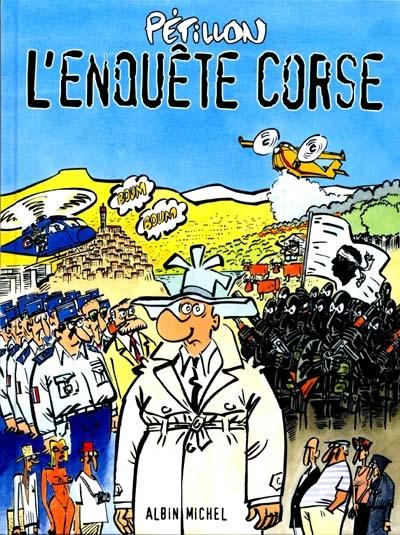 L'enquête corse   René Pétillon (1945-....)