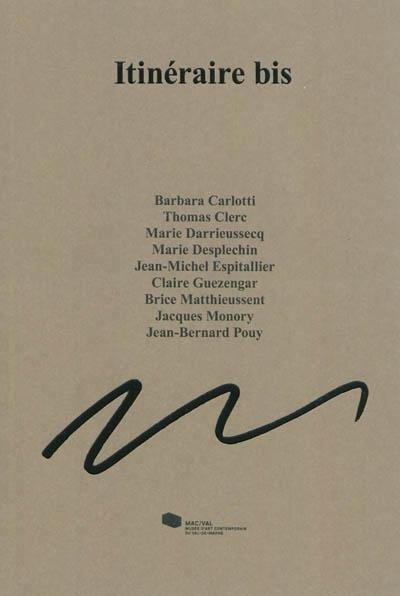 Itinéraire bis | Carlotti, Barbara (1974-....)