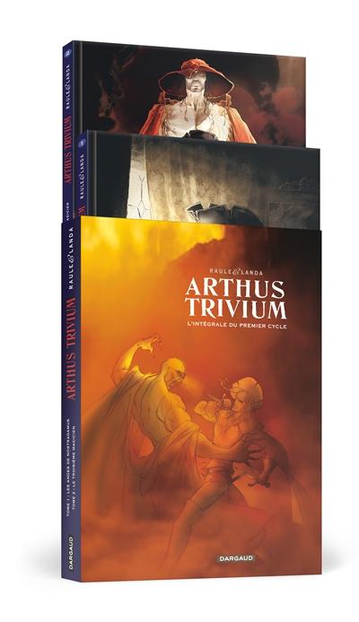 Arthus Trivium : coffret fourreau T1 et T2