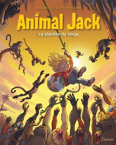 Animal Jack. Vol. 3. La planète du singe