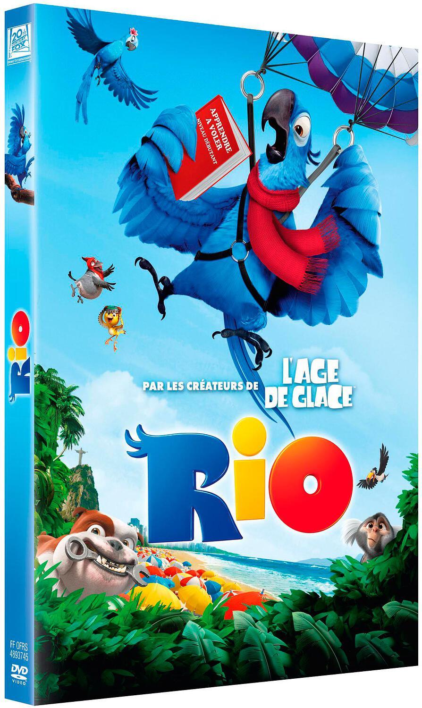 Rio / un film d'animation de Carlos Saldanha   Saldanha, Carlos. Metteur en scène ou réalisateur. Scénariste