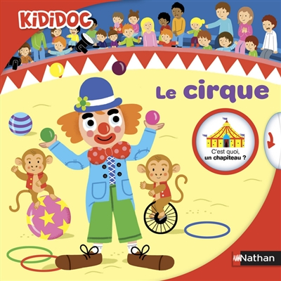 Le cirque / texte Adèle Ciboul |