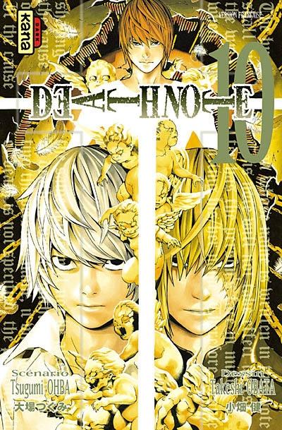 Death note. 10 : manga / scénario Tsugumi Ohba | Ohba, Tsugumi. Auteur