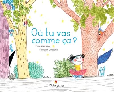 Où tu vas comme ça ? / un texte raconté par Gilles Bizouerne | Bizouerne, Gilles (1978-....). Auteur