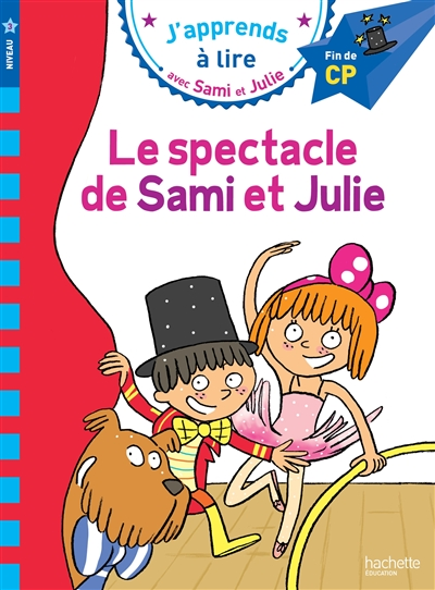 spectacle de Sami et Julie (Le)   Lebrun, Sandra. Auteur