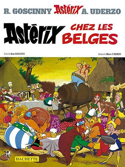 Astérix chez les Belges. 24 / texte Goscinny   Goscinny, René (1926-1977)