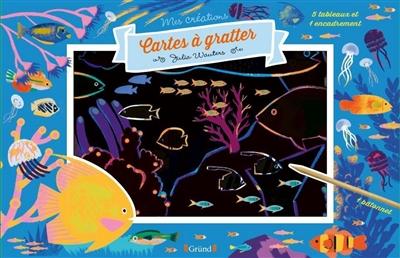 Océans : cartes à gratter