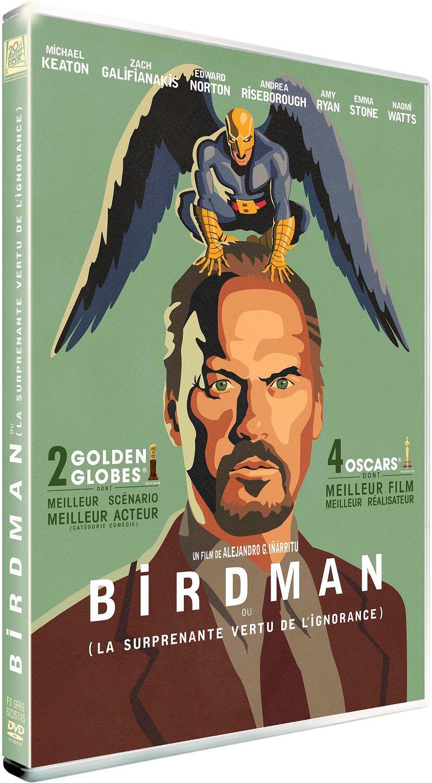Birdman : (ou la surprenante vertu de l'ignorance) / un film de Alejandro González Inárritu | Inarritu, Alejandro Gonzalez. Metteur en scène ou réalisateur. Scénariste