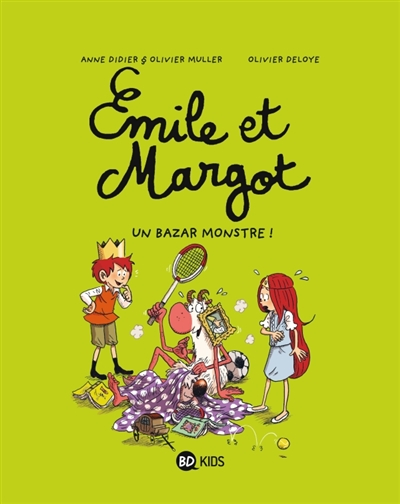Un bazar monstre / Anne Didier & Olivier Muller, Olivier Deloye   Didier, Anne (1969-....). Auteur